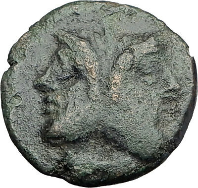 Thessalonica in Macedonia under Romans Ancient Greek Coin  JANUS CENTAURS i63066