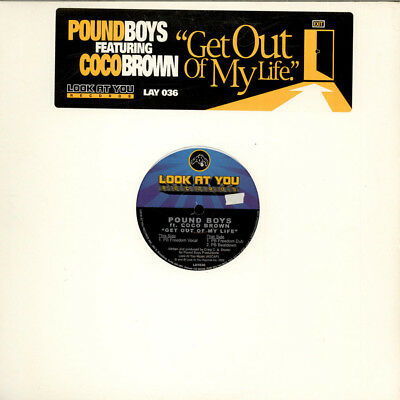 "Pound Boys Featuring Coco Brown - Get Out Of (Vinyl 12"" - 2002 - US - Original)"