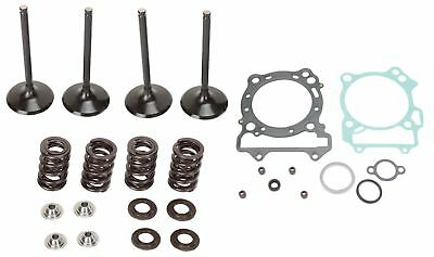 Moose Complete Stainless Steel Valve Kit and Gaskets For Honda CRF 450 R 02-06