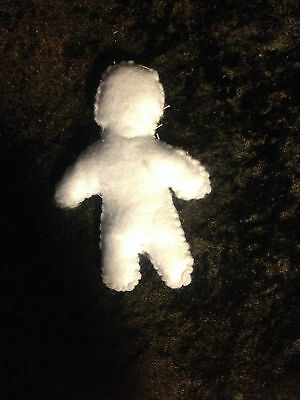 White Voodoo Doll - Blank Slate Doll - PURITY