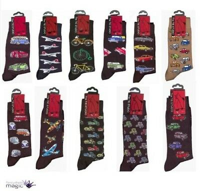 Adult Cotton Deluxe Premium Quality Pair Socks Birthday Christmas Novelty Gift