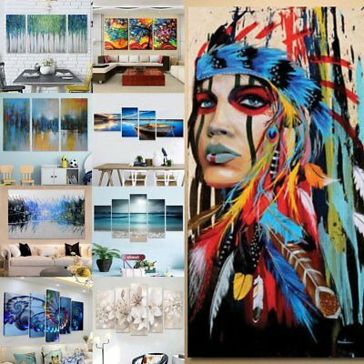 Abstract Modern Canvas Painting Art Print Home Wall Decor Unframed/Framed Gift