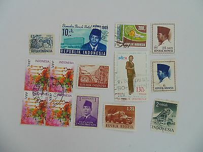 L1669 - Collection Of Mixed Indonesia Stamps
