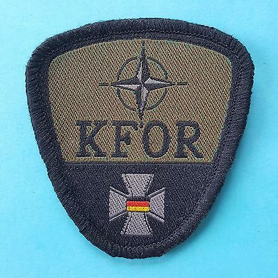 NATO FORCE KFOR Us Armed Forces Camp Bondsteel Insignia Tab