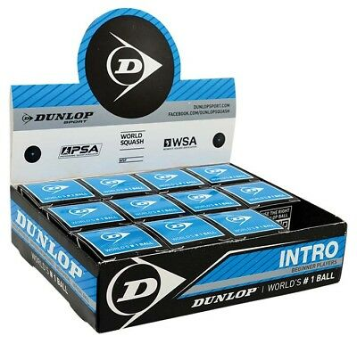 Dunlop Intro 12 Ball 12 Units Black