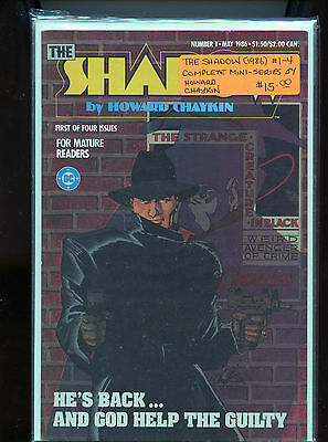 The Shadow 1986 # 1 - 4 Complete mini-series Howard Chaykin   NM CM29