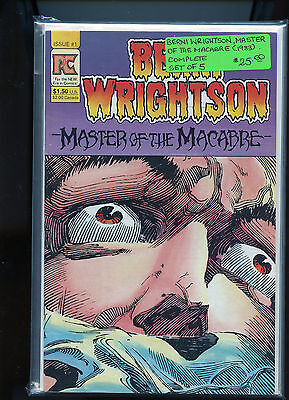 Berni Wrightson Master of the Macabre 1983 Complete set of 5  NM CM28