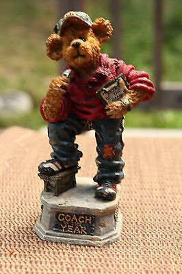 Boyds Bears: Coach Grizberg  Leading The Way - NO RESERVE