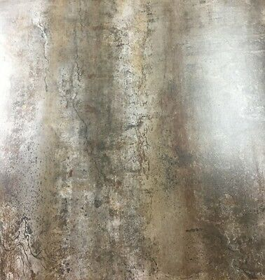 contemporary steel light rust cement look glazed porcelain tile 24x24