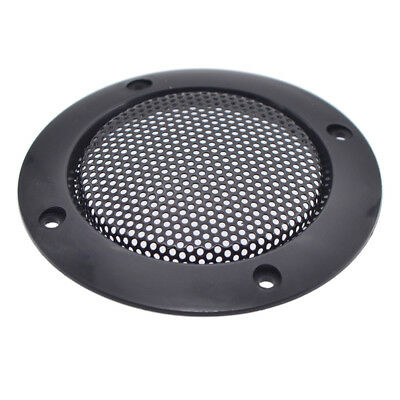 2 Pcs 3 Inch Speaker Cover Grill Audio Protective Hood Case Metal Mesh Parts New