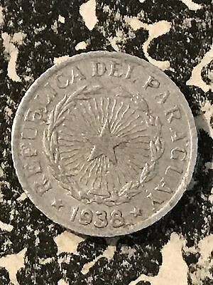 1938 Paraguay 50 Centimos Lot#6246