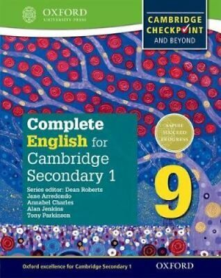 Complete English for Cambridge Secondary 1 Student Book 9 For C... 9780198364672