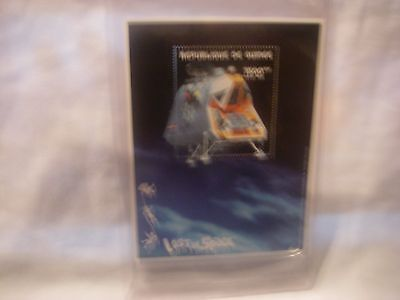 Lost In Space Republic Of Guinea Space Pod Lim Edition Stamp & Certificate 1998