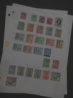 EDW1949SELL : SOMALILAND Interesting Mint & Used collection on Homemade pages.
