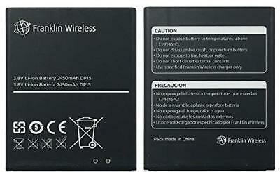 New OEM Original Genuine Franklin Wireless R850 Mobile Hotspot Battery 2450mAh