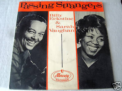 BILLY ECKSTINE & SARAH VAUGHAN on mercury records   PASSING STRANGERS