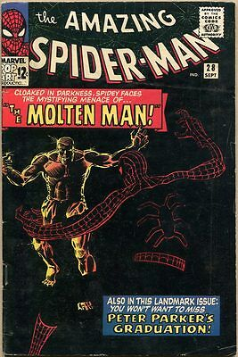 Amazing Spider-Man #28 - VG-