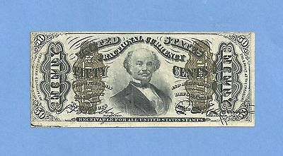 FR 1341 3rd Issue 50 Cents Spinner Fractional Currency Extra Fine