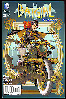 Batgirl #28 Jg Jones Variant Steampunk Cover New 52 Gail Simone 2014 Dc Comics