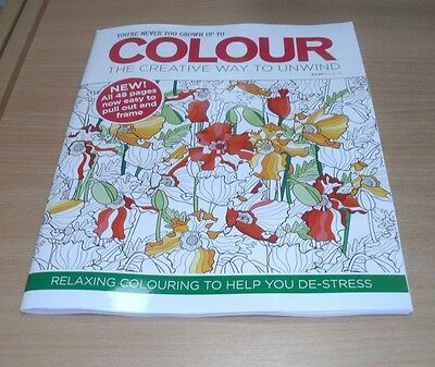You're Never too Grown up to Colour magazine #19 The Creative Way to Unwind