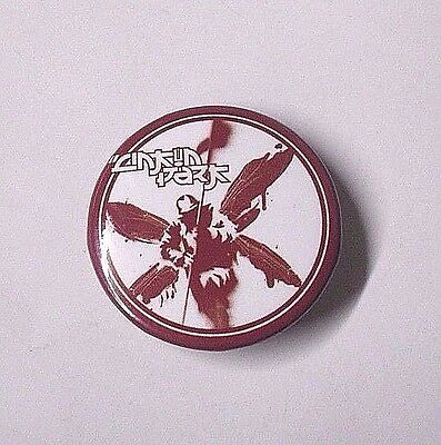 LINKIN PARK Rock Band LOGO Punk RED White WINGED Robot SOLDIER 3.5cm PIN BADGE