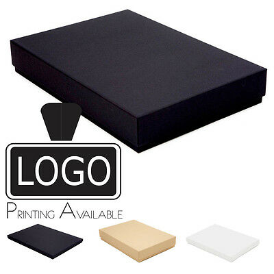 A6 Luxury Rigid Presentation Stationery Gift Box 20mm/53mm, Printing Available