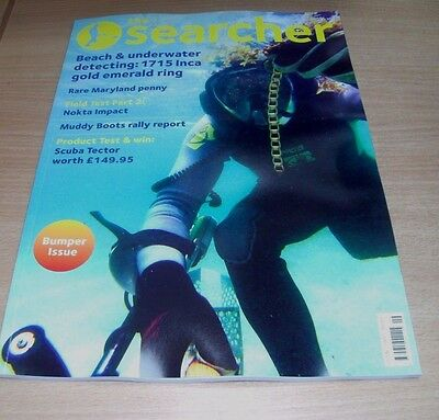The Searcher magazine SEP 2017 Beach & Underwater Detecting, Rare Maryland Penny