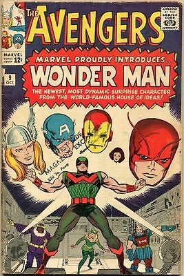 Avengers #9 - G/VG - 1st Appearance Of Wonder Man