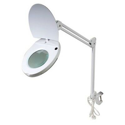 Byomic Table Magnifier with Clamb LED White