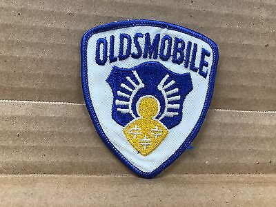 """Vintage Style Embroidered Oldsmobile  Jacket Patch  3"""" X 3.5"""""""