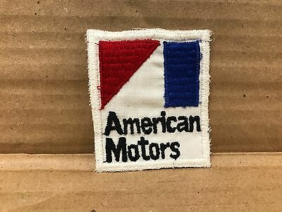 "Vintage Original 1960's Embroidered American Motors Jacket Patch 2.75"" X 2.5"""