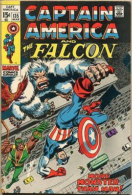 Captain America #135 - FN/VF