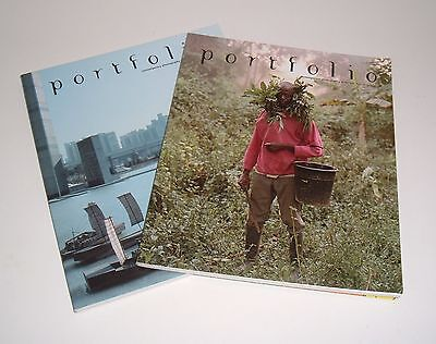 2 x  PORTFOLIO (biannual magazines of contemporary photography). 41 & 44 2005/6