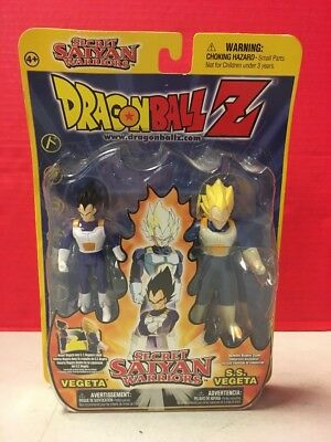 Dragonball Z Secret Saiyan Warriors SS Vegeta Funimation Action Figure 2001