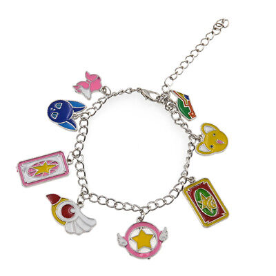 Card Captor Sakura Bracelet Chain Japanse Anime Wand Kinomoto Cosplay Bangle