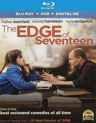 The Edge of Seventeen (Blu-ray disc ONLY, 2017)