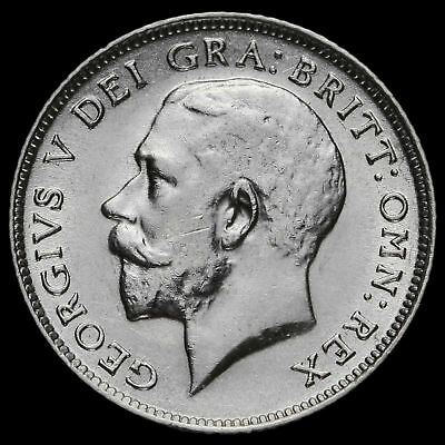 1916 George V Silver Sixpence, EF