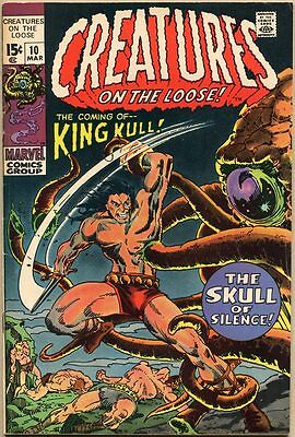 Creatures On The Loose #10 - VG/FN - 1st Appearance Of Kull
