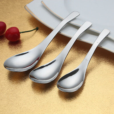 New Stainless Steel Serving Spoon Kitchen Flatware Stirring Coffee Tea Gift Lot