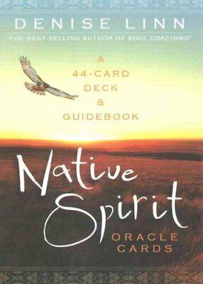 Native Spirit Oracle Cards A 44-Card Deck and Guidebook 9781401945930