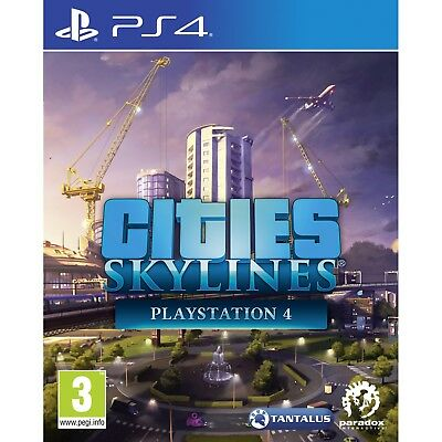 Cities Skylines PS4 Game - Brand New!