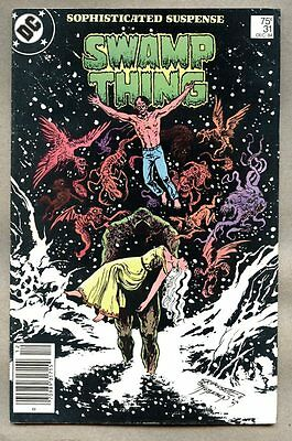 Swamp Thing #31-1984 fn- Saga of Alan Moore