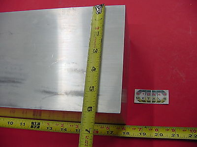 "4"" X 6"" ALUMINUM 6061 FLAT BAR 18"" long  SOLID T6511 Rectangle New Mill Stock"