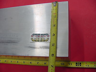 "2 Pieces 4"" X 6"" ALUMINUM 6061 FLAT BAR 11"" long SOLID T6 Rectangle Mill Stock"