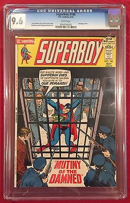 SUPERBOY #186 CGC 9.6 Mutiny of the Damned 1972 DC