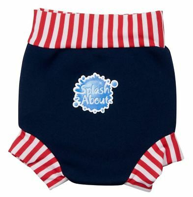 Spash About Happy Nappy - Navy/Red
