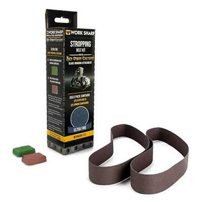 Work Sharp Stropping Belt Kit for the Blade Grinding Attachment WSSAKO81121
