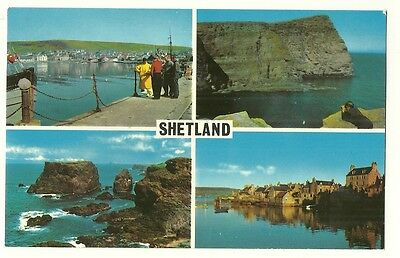 Shetland - a photographic multiview postcard