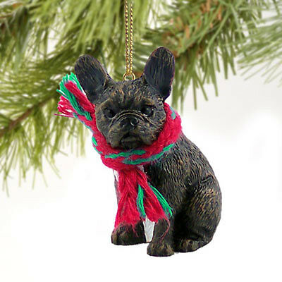 French Bulldog Dog Tiny One Miniature Christmas Holiday ORNAMENT