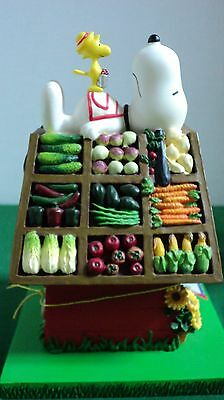 Peanuts Snoopy & Woodstock Doghouse Days Of Summer Produce For Peanuts 8632 UFS